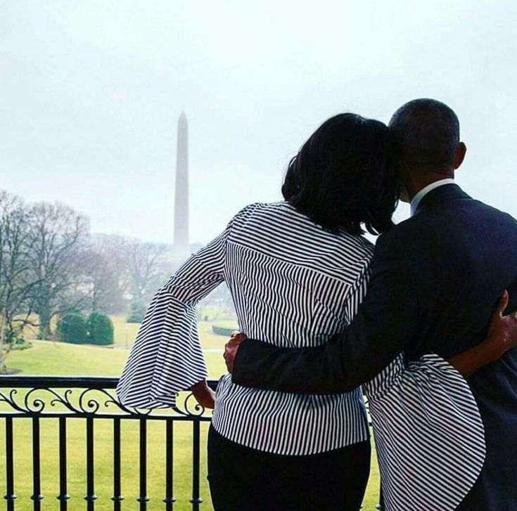 President Barack Obama  and First Lady Michelle Obama - We miss you