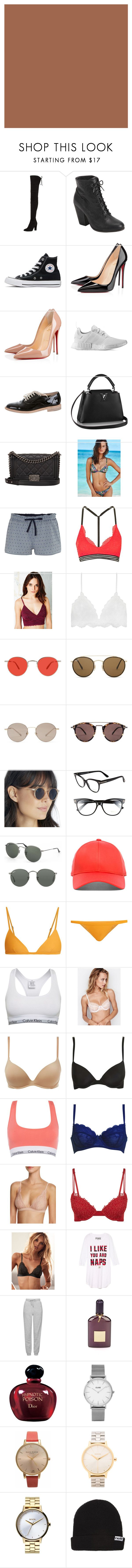 """""""Winter Mediterranean/Europe Trip"""" by katiasitems on Polyvore featuring Stuart Weitzman, rag & bone, Converse, Christian Louboutin, adidas, Chanel, Victoria's Secret, Tommy Hilfiger, Topshop and Pins & Needles"""