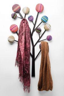 KARE Wandgarderobe Bubble Tree