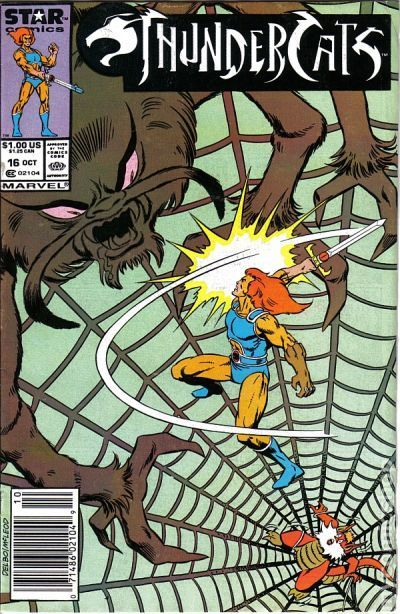Thundercats (1985 1st Series Marvel) 16