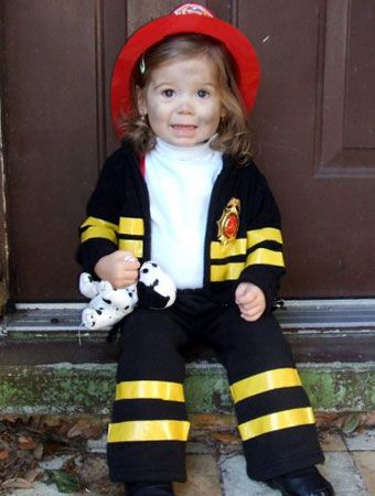 75 cute homemade toddler halloween costume ideas - Fireman Halloween