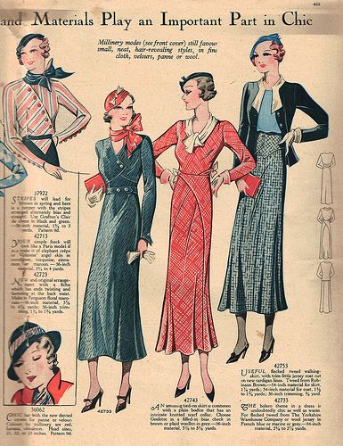 Weldon's Ladies Journal April 1933 center2 | Flickr - Photo Sharing!