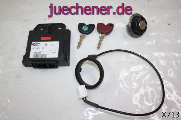 Piaggio X9 125 Schloßsatz  Steuergerät CDI Schlüssel Wegfahrsperre
