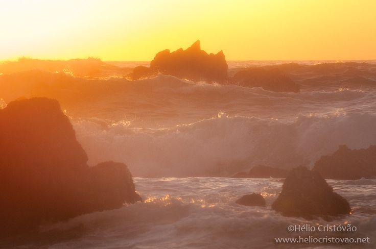 Fotografias Mágicas. Luz dourada na costa de Sintra
