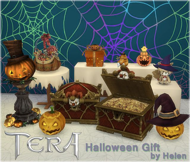Sims 4 CC's - The Best: Halloween Decor by Helen   Sims 4 ...