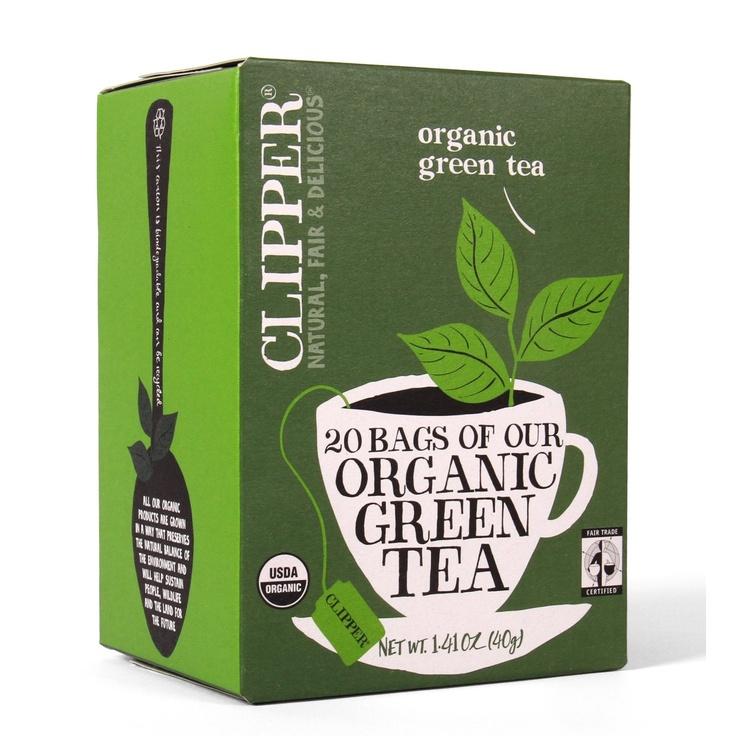Clipper Fair Trade Organic Green Tea, 20Count (Pack of 6