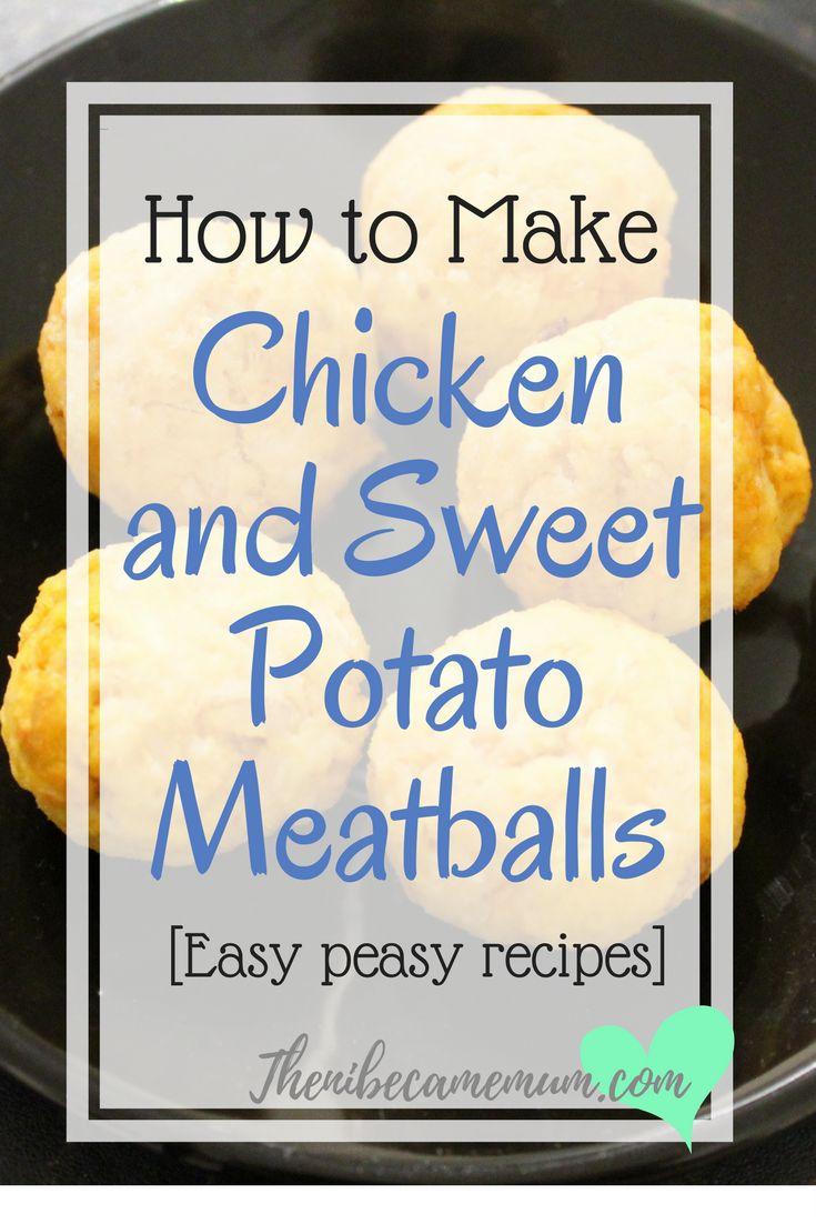 Chicken And Sweet Potato Meatballs