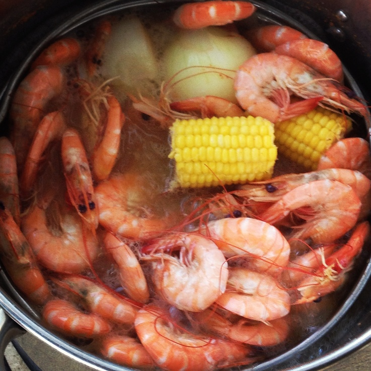Louisiana Boiled Shrimp (Frank Davis) | Recipe | Cooking ...