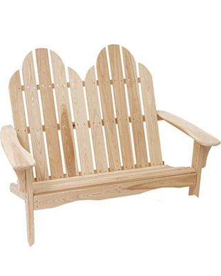Adirondack settee plans free woodworking projects plans for Chaise adirondack plan