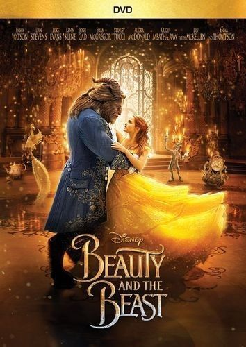 Beauty and the Beast Live Action Disney DVD 2017 Sealed New Free Shipping