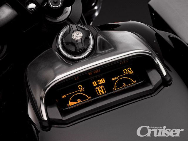 Star Auto Parts >> motorcycle gauges | 2009 Star Vmax Gauges | Motorcycle ...