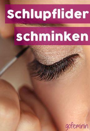 Schlupflider schminken: So kommen kleine Augen perfekt zur Geltung
