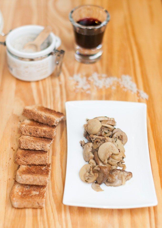 Receita de Cogumelos Porcini frescos da Bunn salteados | Cozinha do João