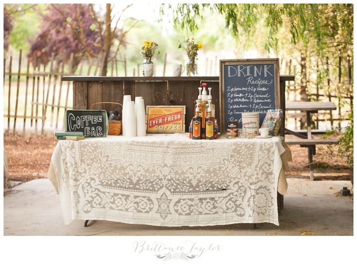 53 best coffee chocolate corner images on pinterest for Coffee bar at wedding reception