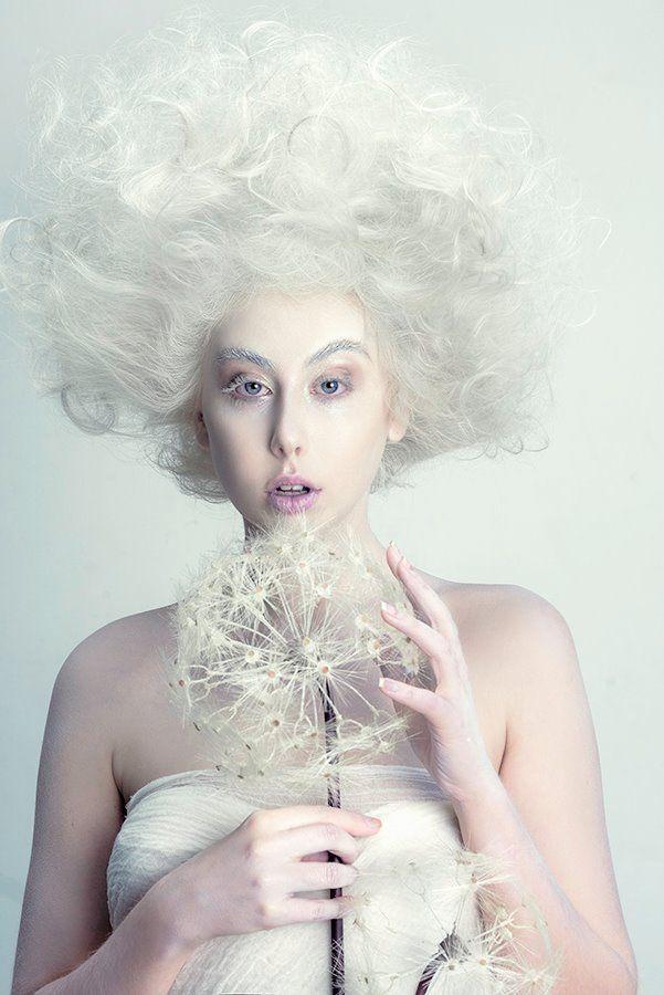 Modern Editorial Bridal Shoot Creative Feels And All The Big Hair
