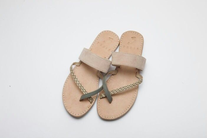 ioanna pink ( handmade leather sandal ) http://treis.gr/products
