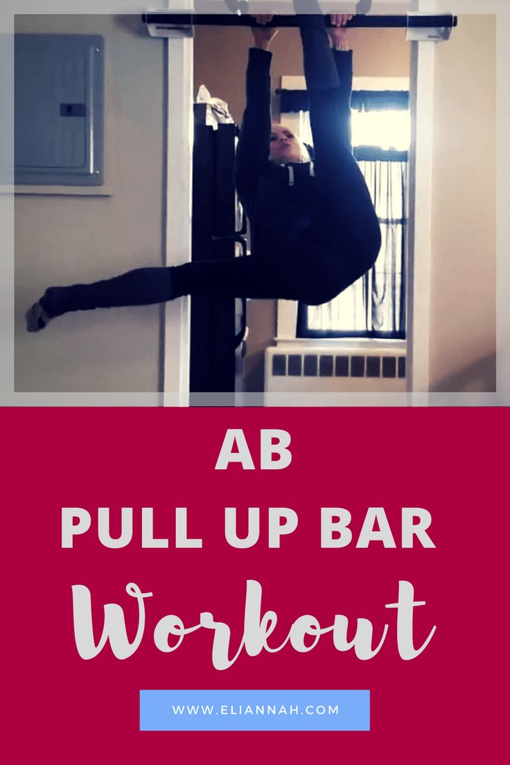 Ab Pull Up Bar Workout - I put together another pull up bar workout that's all ABS.  There are five exercises, with difficulty increasing on each exercise. I would do 10 repetitions on each of these over 2 sets.  Check out the video at the end to see these exercises!