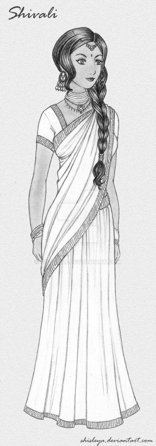 The indian beauty by shisleya on DeviantArt