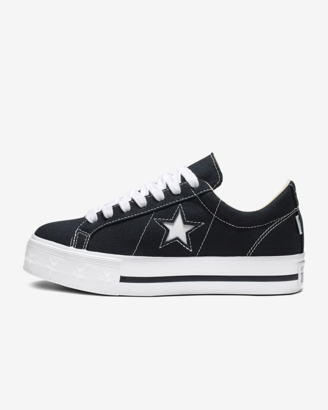 Sneakers CONVERSE One Star Mid 159747C BlackGretHerbal
