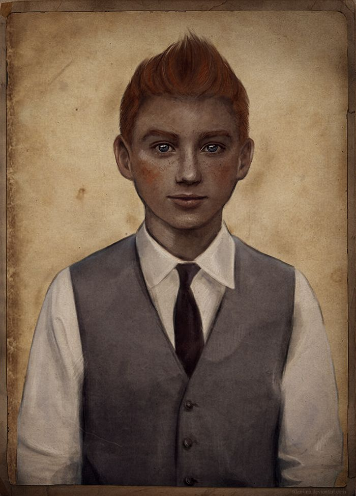 Tintin by ~sikuriina on deviantART • Tintin, Herge j'aime • perhaps my favourite portrait of Tintin at the moment • I love it