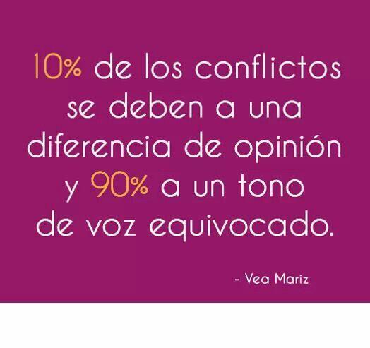 diferencias de opinión y tono de #comunicar equivocado #comunicacion #frases