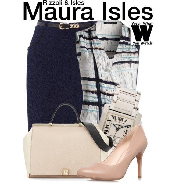Inspired by Sasha Alexander as Maura Isles on Rizzoli & Isles.