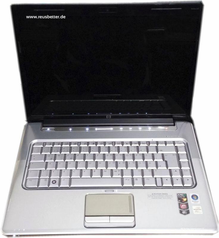 HP Pavilion dv7-1105eg Entertainment Notebook AMD DualCore 2,1 GHz Recycling <