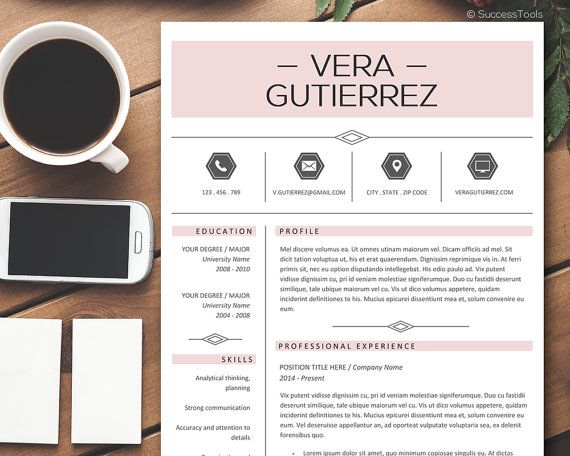 Professional Resume Template / Resume Template by SuccessTools
