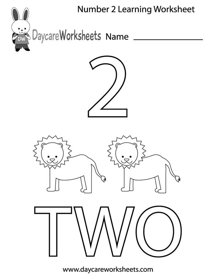 11 best images about Preschool Number Worksheets on Pinterest ...