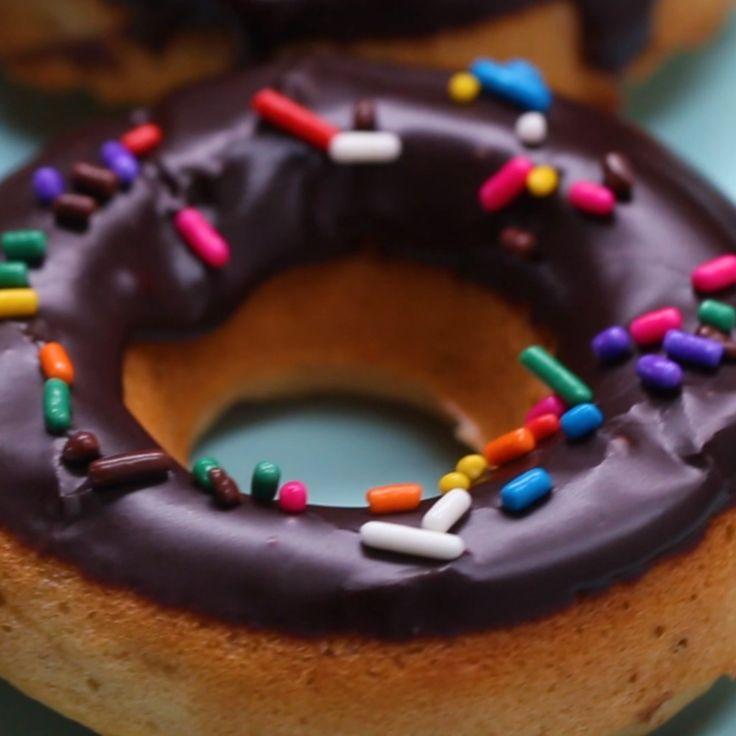 Dairy-Free Chocolate-Glazed Donuts