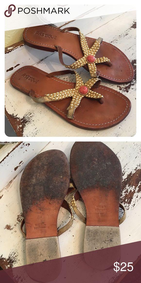 Selling this Mystique Starfish Sandals ☀️ on Poshmark! My username is: debdelaney. #shopmycloset #poshmark #fashion #shopping #style #forsale #Mystique #Shoes