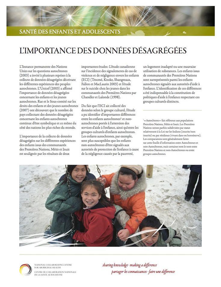 L Importance Des Donnees Desagregees Il Est Essentiel De Disposer De Donnees Completes Exactes Et Ventil Environmental Health Health Practices Health System
