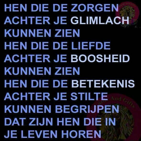 Mooie nederlandse tekst.
