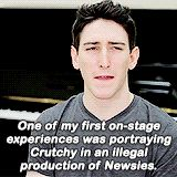 """What were your first impressions of each other? Well, Ben, our first week of rehearsals, he had just seen the Beyoncé""""4""""..."""