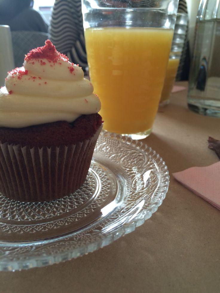 Cup cake red velvet