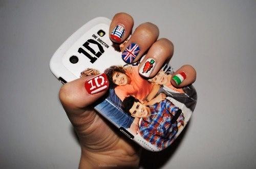 uñas de ONE DIRECTION @One Direction