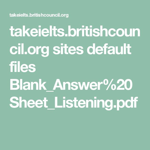 takeielts.britishcouncil.org sites default files Blank_Answer%20Sheet_Listening.pdf