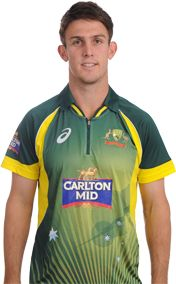 Mitchell Marsh    Role: Batsman    Bats: RHB    Bowls: RM    Date of Birth: 20 Oct 1991    Having chosen cricket over a career as an Australian Rules footballer, Mitchell Marsh wasted no time showing off the natural ability that he shares with his Test-playing father Geoff and brother Shaun.