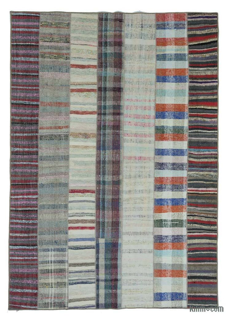 K0020304 Multicolor Turkish Chaput Patchwork Rug | Kilim Rugs, Overdyed Vintage Rugs, Hand-made Turkish Rugs, Patchwork Carpets by Kilim.com