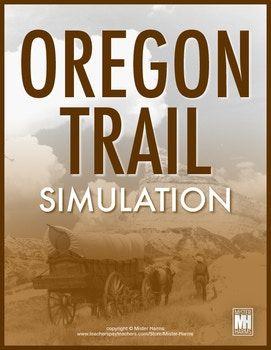 Oregon Trail Simulation: Interactive Social Studies Game &