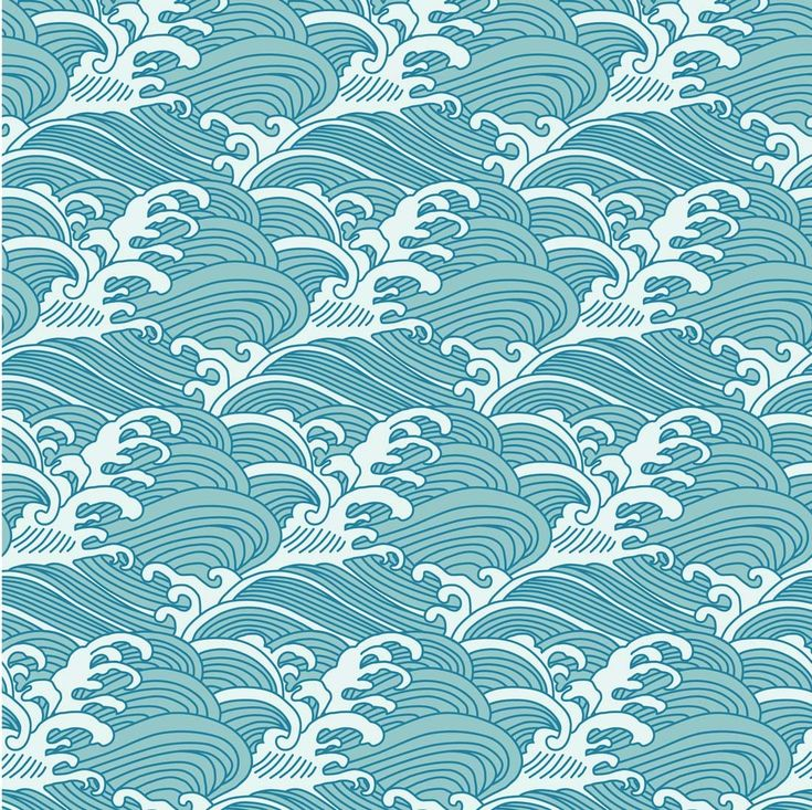 25 best ideas about wave pattern on pinterest japanese for Chinese mural art
