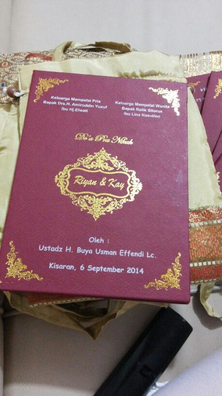 Buku pengajian pernikahan