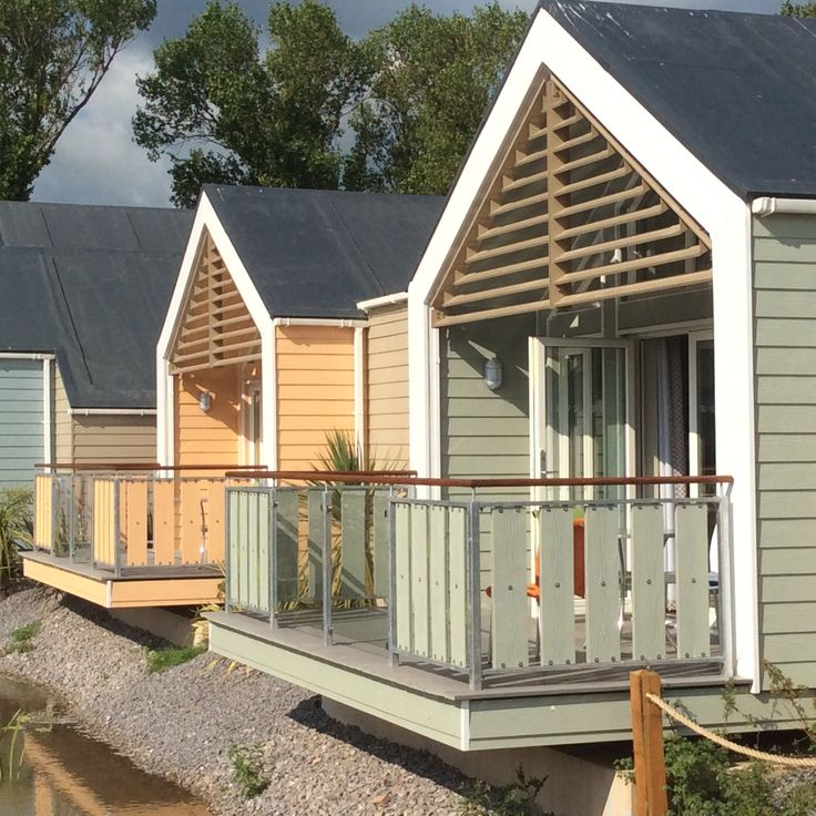 Excellent new chalets at Butlins - all fully clad with Cedral Weatherboard - had a great holiday!