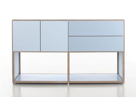 Werner Aisslinger . ADD system furniture, for Flötotto
