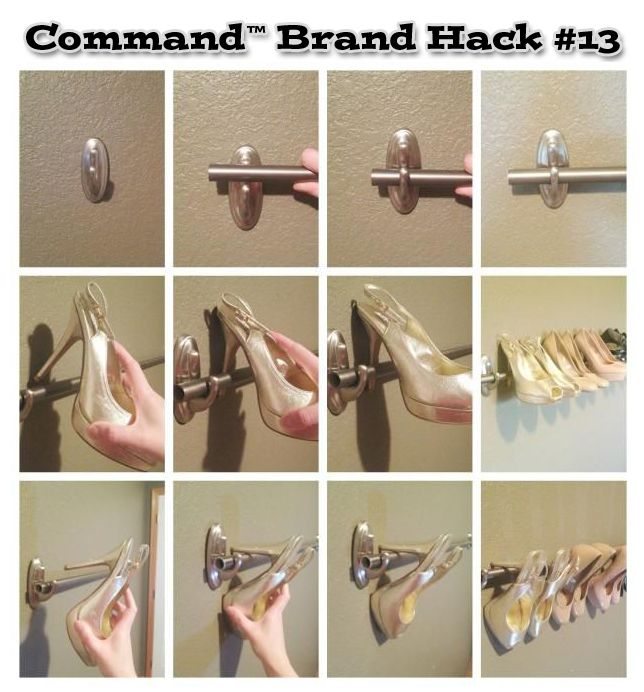 Awesome Command Strips towel Bar