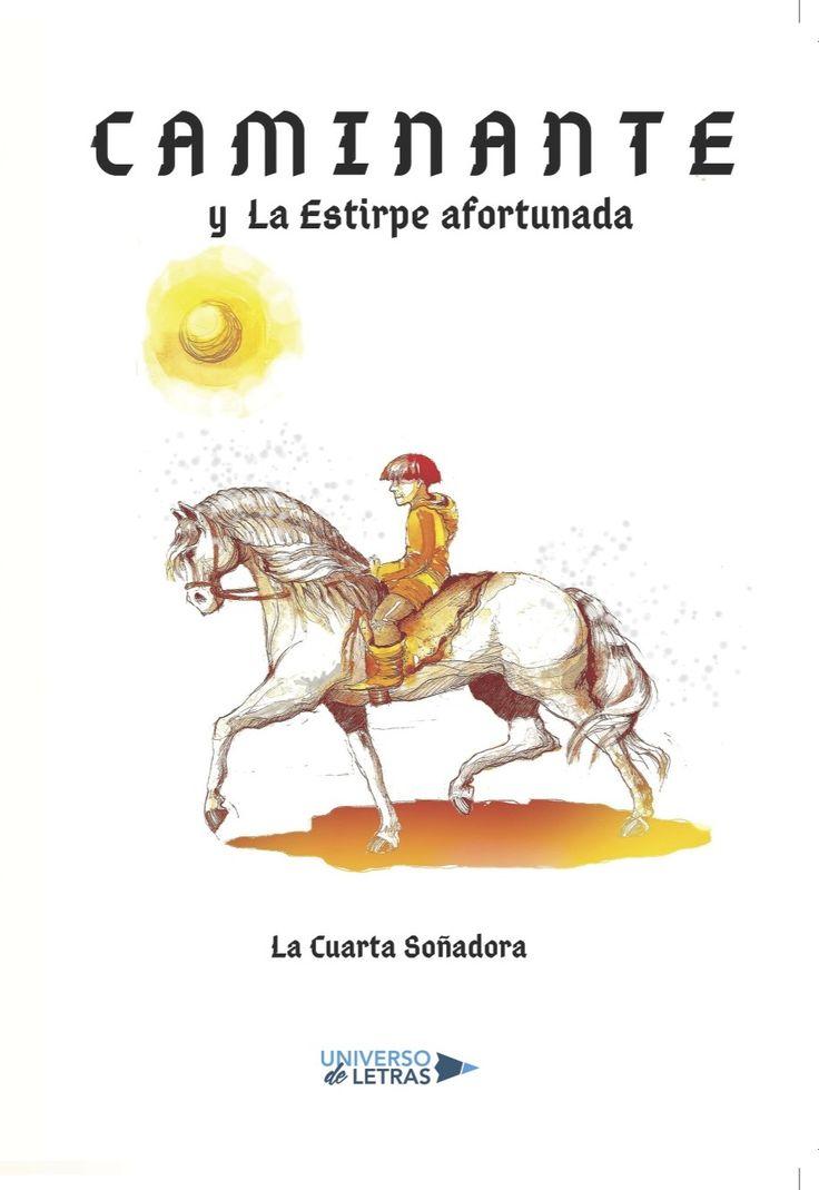 Cuento juvenil ilustrado.  Un caballo, un niño y la magia de una leyenda.