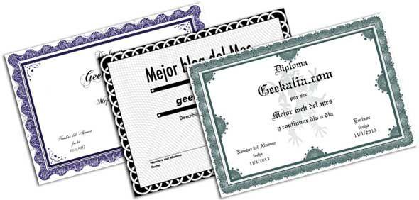 Paginas para diseñar y crear diplomas gratis online