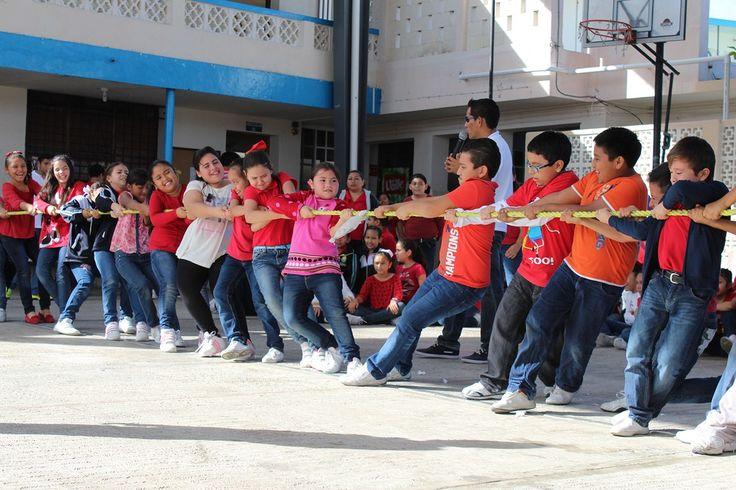 """Realizan actividades deportivas en la escuela """"Guadalupe Victoria"""""""