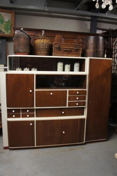 Keukenkast uit jaren 50 | Het Packhuys Hoogstraten - Brocante - Decoratie - Antiek