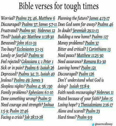 Bible Quotes For Hard Times In Life: Quotes Of Encouragement In Tough Times. QuotesGram